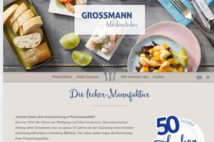 Grossmann: neue Website