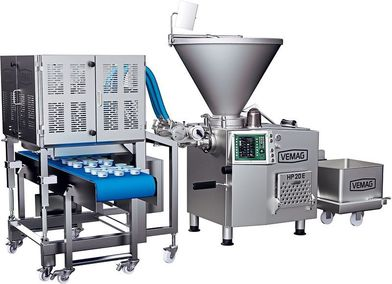 Combined portioning and packaging