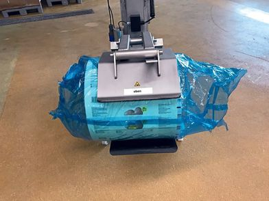 Mobile lifter for packaging