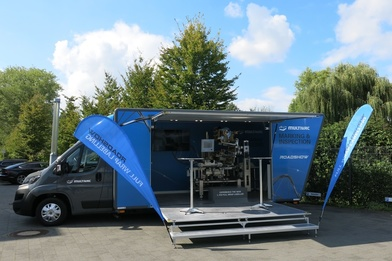Erfolgreiche Roadshow: Multivac Marking & Inspection on tour